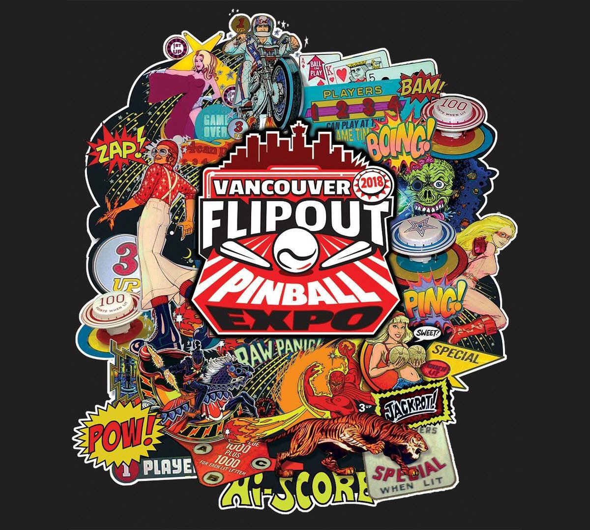 See Houdini in Action at Vancouver FlipOut: Sept 7-9