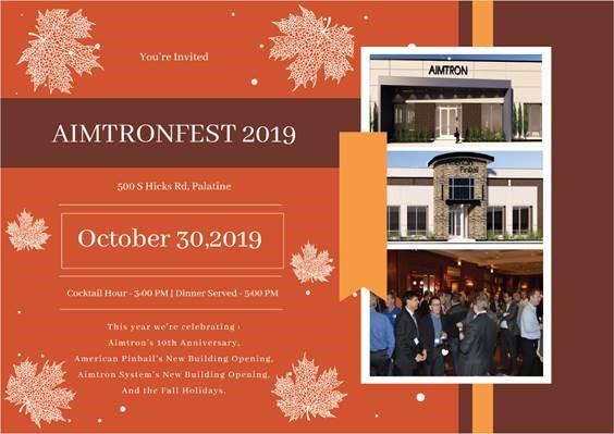 AimtronFest 2019 is Right Around The Corner!!