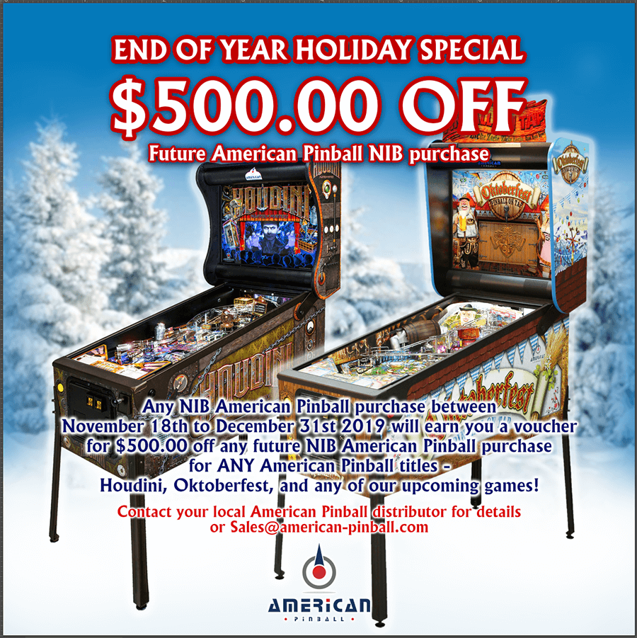 We are excited to announce our Year End Holiday Special!