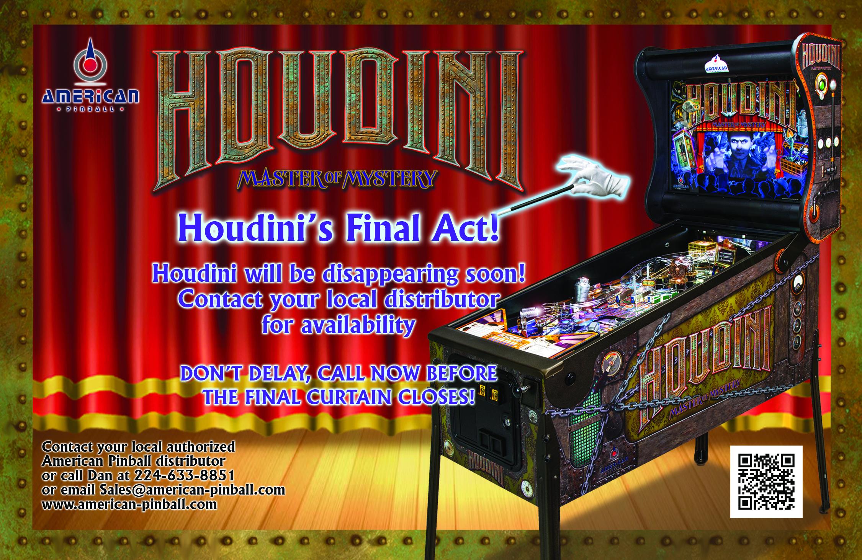 HOUDINI'S LAST ACT