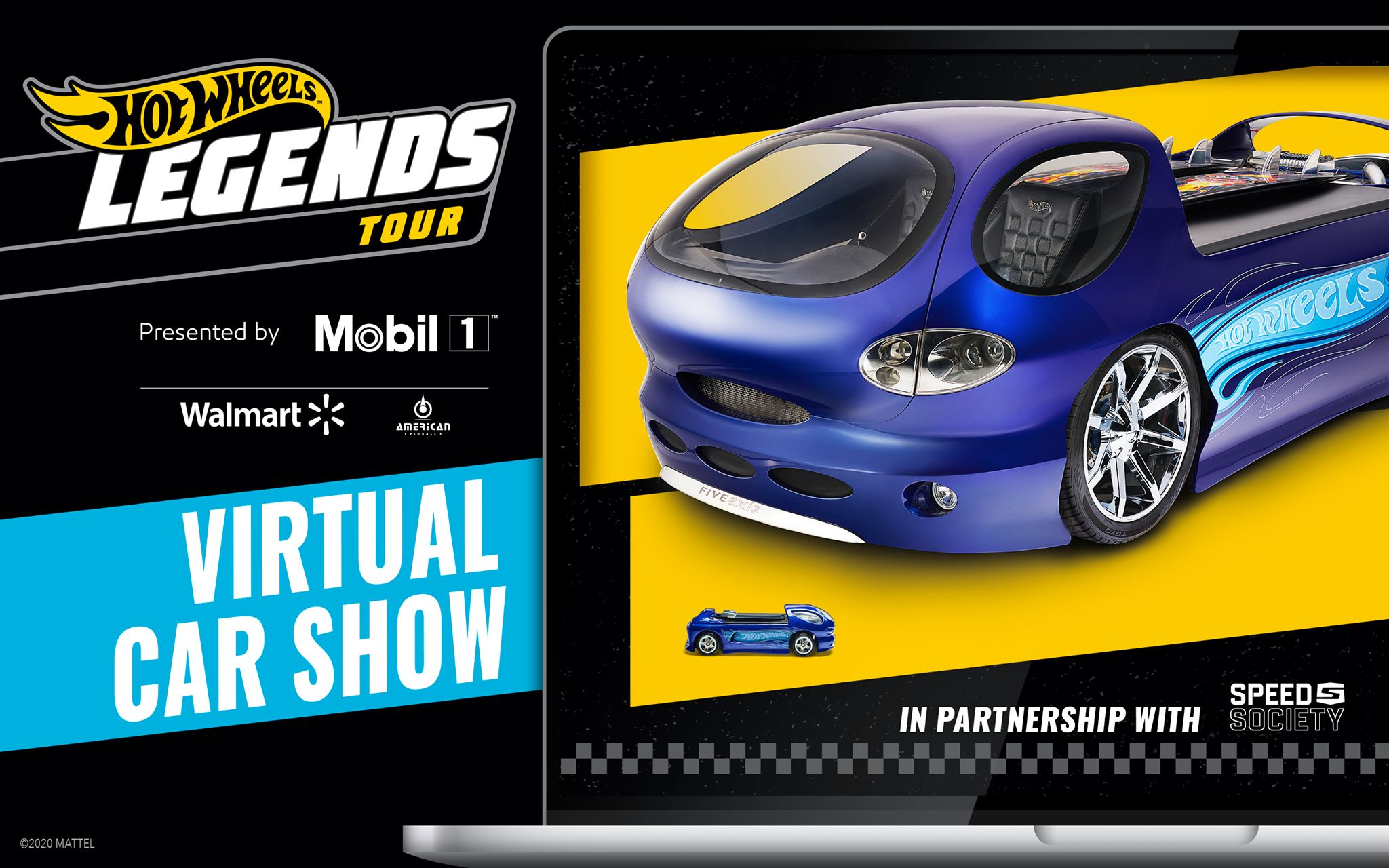 American Pinball Announces Sponsorship of Hot Wheels Legends Tour Virtual Car Show