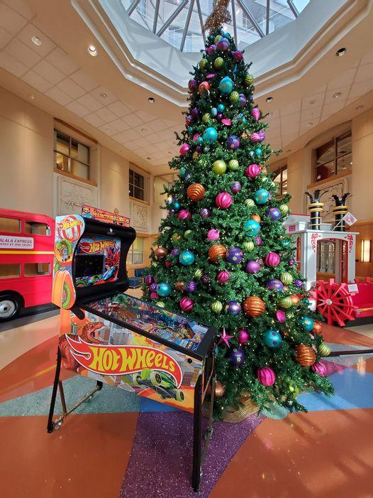 Pinball Bringing Joy to the Children of Cardinal Glennon Children's Hospital in St. Louis