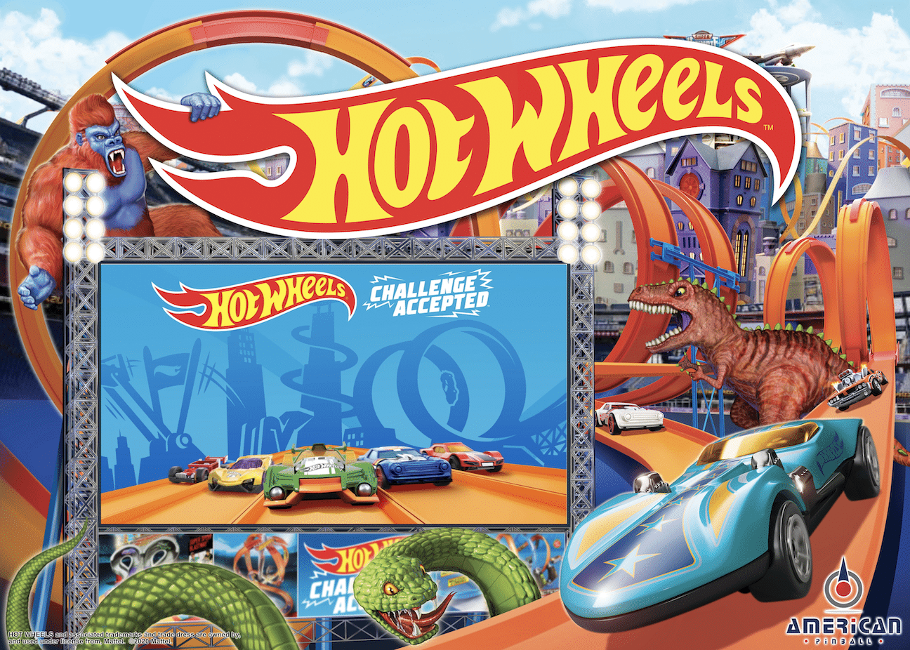 Hot Wheels™  Pinball SHIPPING NOW! Contact your local distributor to order!