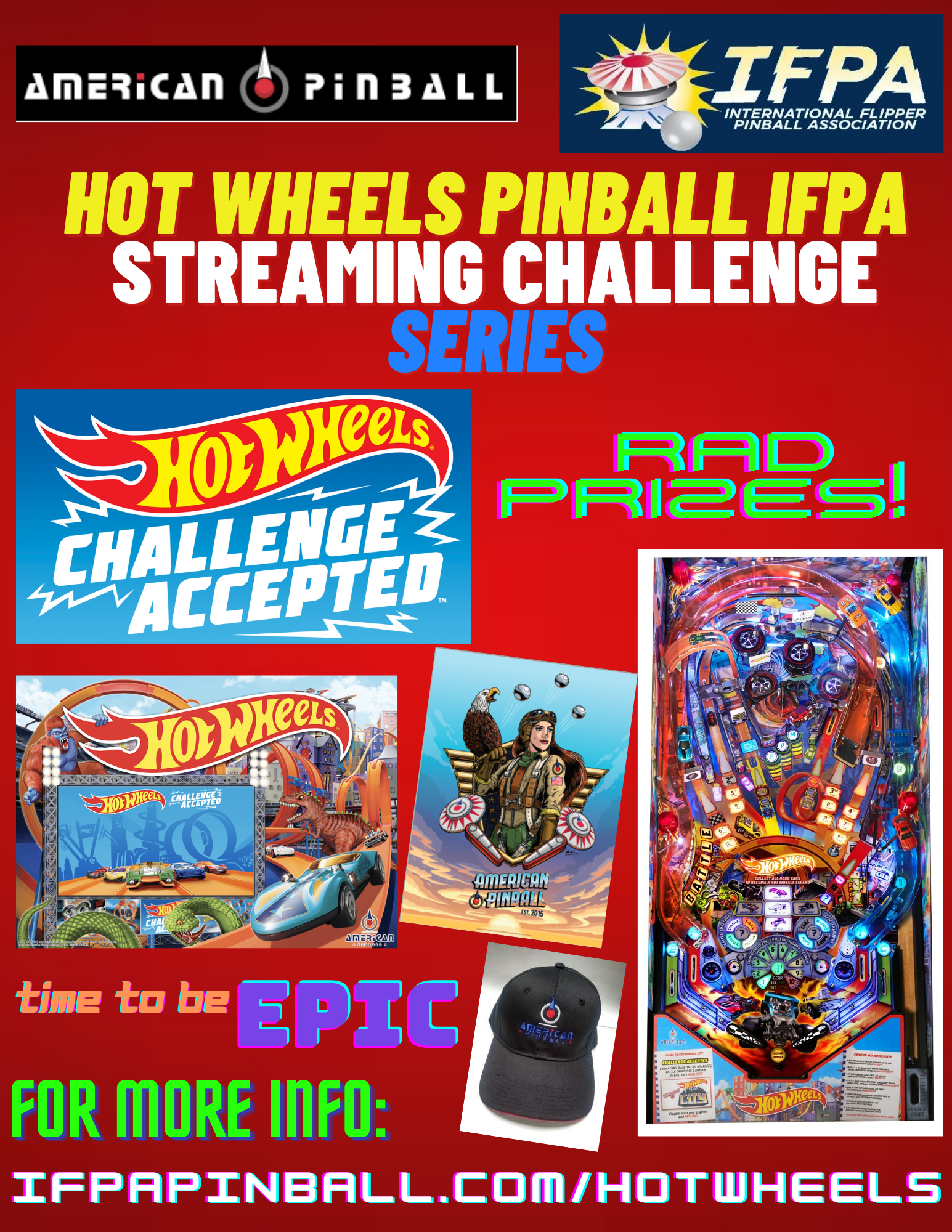 AP Teams Up with International Flipper Pinball Assoc. (IFPA) to Launch Hot Wheels Pinball IFPA Livestreaming Challenge Series